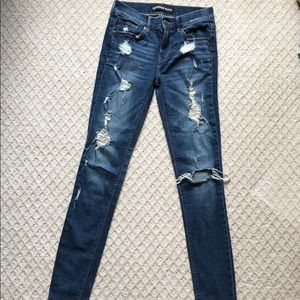 Express torn jeans